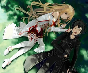 kawaii, cute, and anime couple image