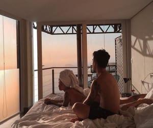 eyebrow, lifestyle, and love couple image