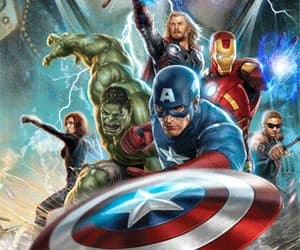 Avengers, gif, and the avengers image