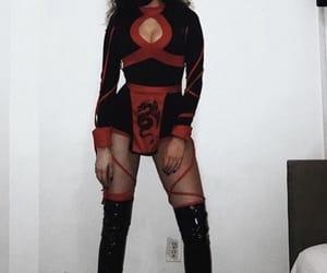 costume, girls, and Halloween image