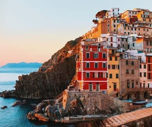 beauty, cinque terre, and colors image