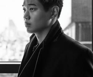 actor, ki hong lee, and b&w image