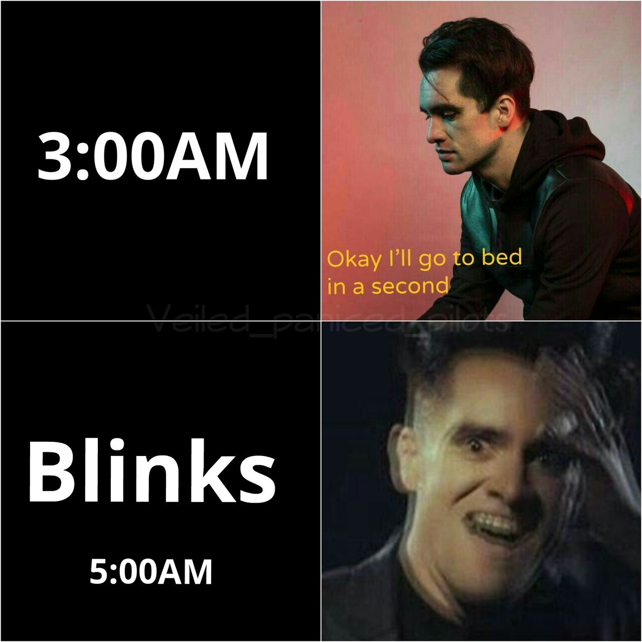 brendon urie, funny, and meme image