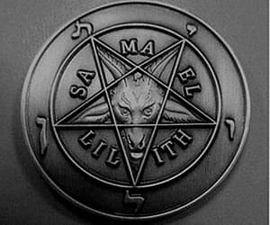 coin, satan, and Devil image