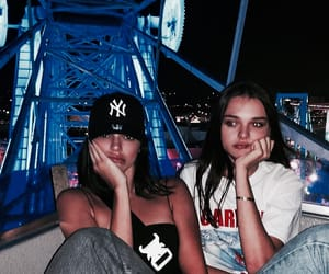 kendall jenner, model, and charlotte lawrence image