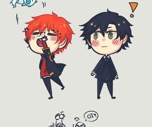 anime, chibi, and MM image
