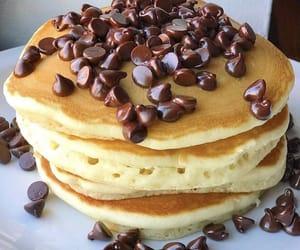 pancakes and chocolate image