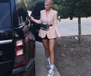 kylie jenner, car, and style image