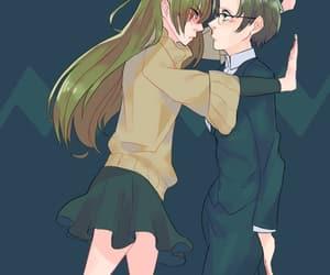 anime, anime girl, and MM image