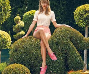 garden, keds, and Taylor Swift image