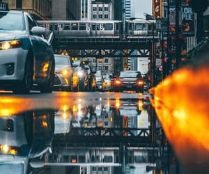 car, chicago, and pretty image