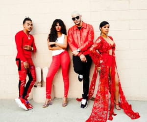 selena gomez, dj snake, and cardi b image