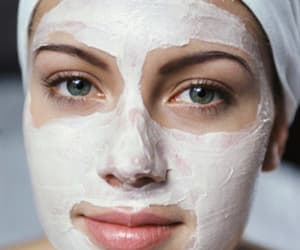 beauty, face mask, and girl image