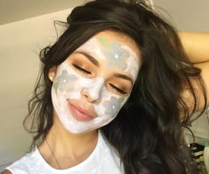 girl and skincare image