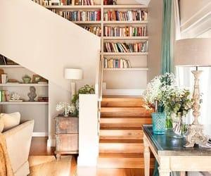 home, bookshelves, and home decor image