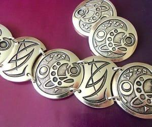 carving, modernist, and eloxal bracelet image