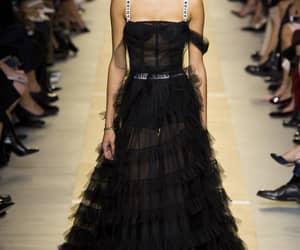 dress, model, and Christian Dior image