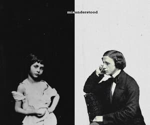 alice in wonderland, alice liddell, and Lewis Carroll image