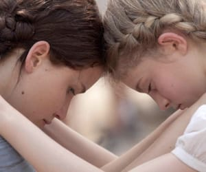 katniss everdeen, sisters, and the hunger games image
