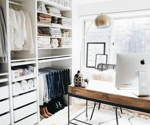 closet, home, and room image