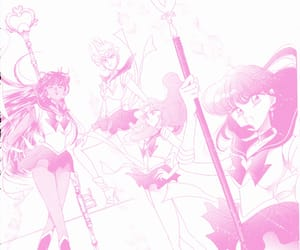 aesthetic, anime, and sailor pluto image