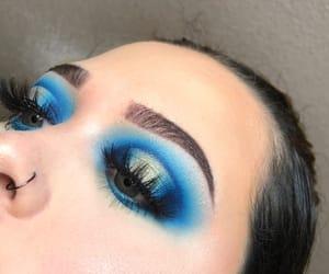 eyebrows, eyeshadow, and flawless image