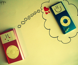 ipod, lovely, and photography image