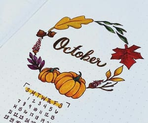 fall and october image