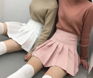 brown, fashion, and grey image