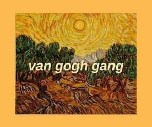 van gogh, wallpaper, and yellow image