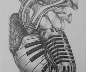 heart, music, and fondos image