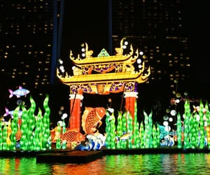asia, festival, and illumination image