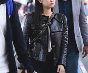 airport, female, and kpop image