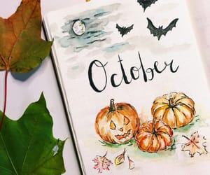 Halloween, october, and orange image