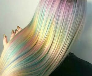 colors, hair, and hairstyle image