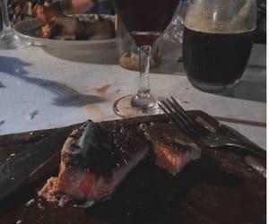 asado, wine, and vino image