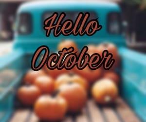 fall, Halloween, and hello image