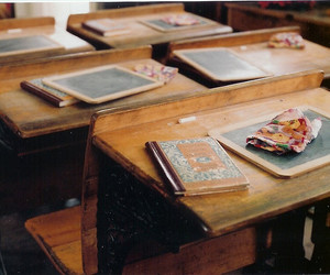 school, vintage, and book image