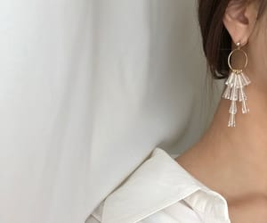 aesthetic, earring, and fashion image