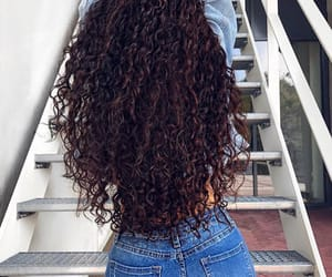 beautiful, curls, and curly image