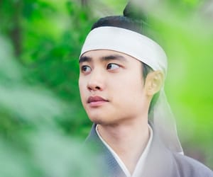 exo, d.o, and 100 days my prince image