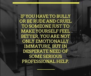 bully, cruel, and rude image