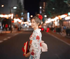 beautiful, thailand, and yukata image