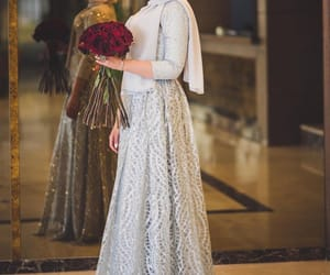 fashion, party look, and hijab image