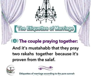 marriage, salaah, and prayer image