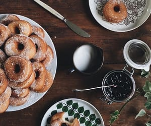 food, donut, and doughnuts image