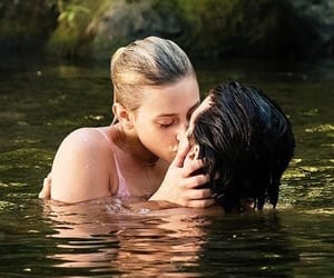 cole sprouse, riverdale, and lili reinhart image