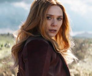 scarlet witch, wanda maximoff, and Avengers image