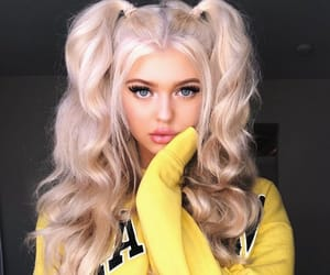 girl, loren, and loren gray image