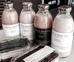food, drink, and milk image